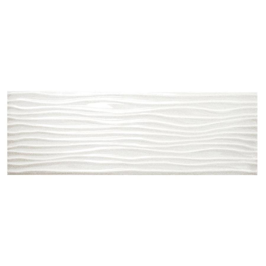 Shop American Olean Urban Canvas 28 Pack Gloss Ice White