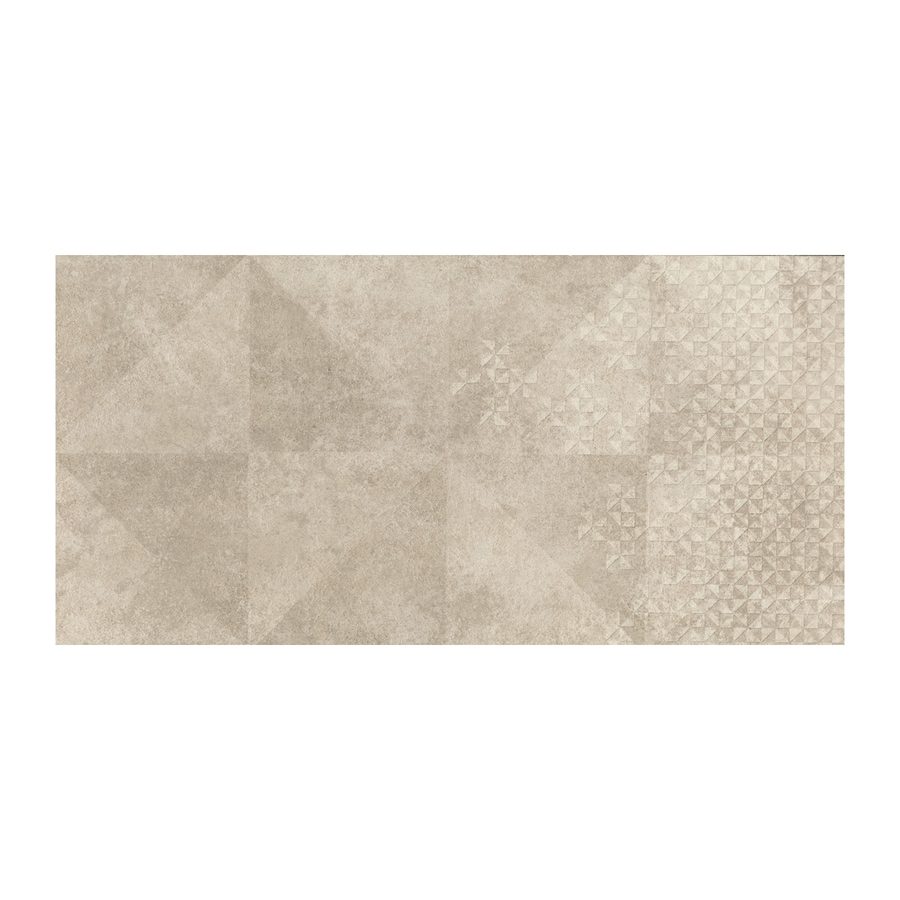 American Olean Colt Beige Thru Body Porcelain Floor and Wall Tile (Common: 12-in x 24-in; Actual: 23.375-in x 11.625-in)