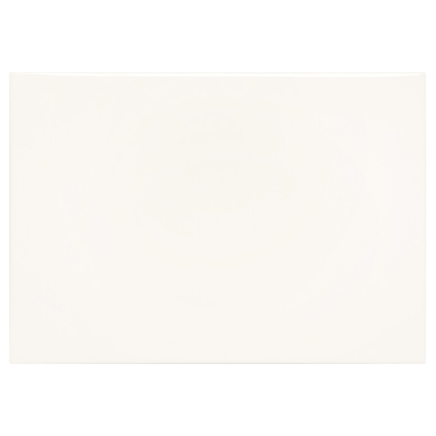 American Olean Starting Line Gloss White Ceramic Wall Tile (Common: 10-in x 14-in; Actual: 9.84-in x 13.97-in)