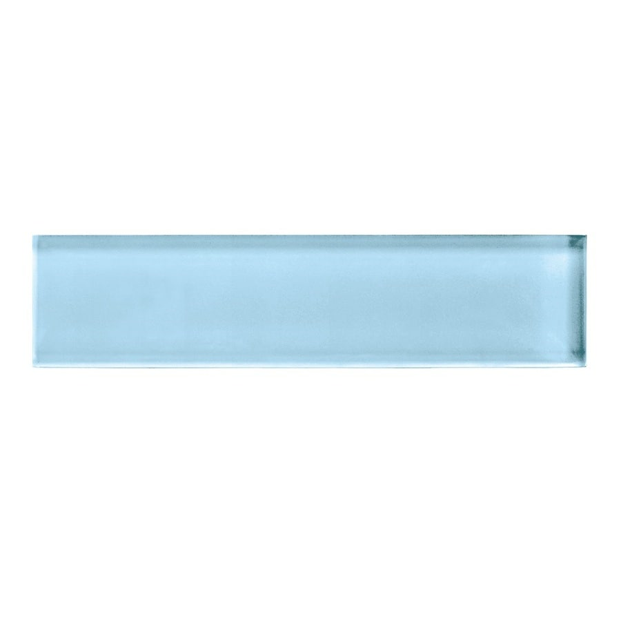 American Olean Color Appeal Powder Glass Wall Tile (Common: 2-in x 8-in; Actual: 1.87-in x 7.87-in)