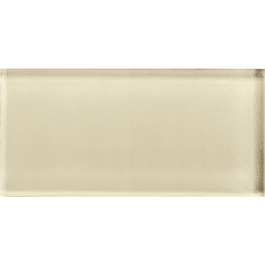 Shop American Olean Color Appeal Cloud Cream Glass Wall
