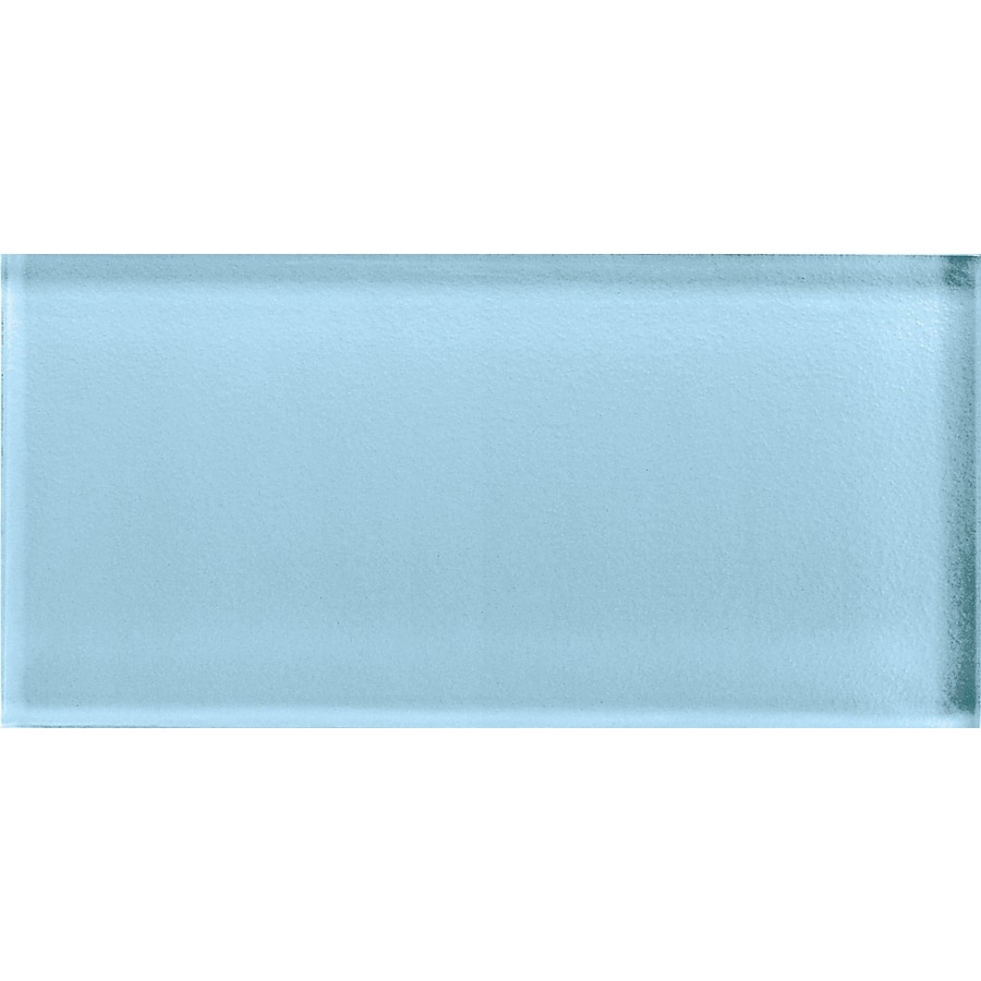 American Olean Color Appeal Powder Glass Wall Tile (Common: 3-in x 6-in; Actual: 2.87-in x 5.87-in)