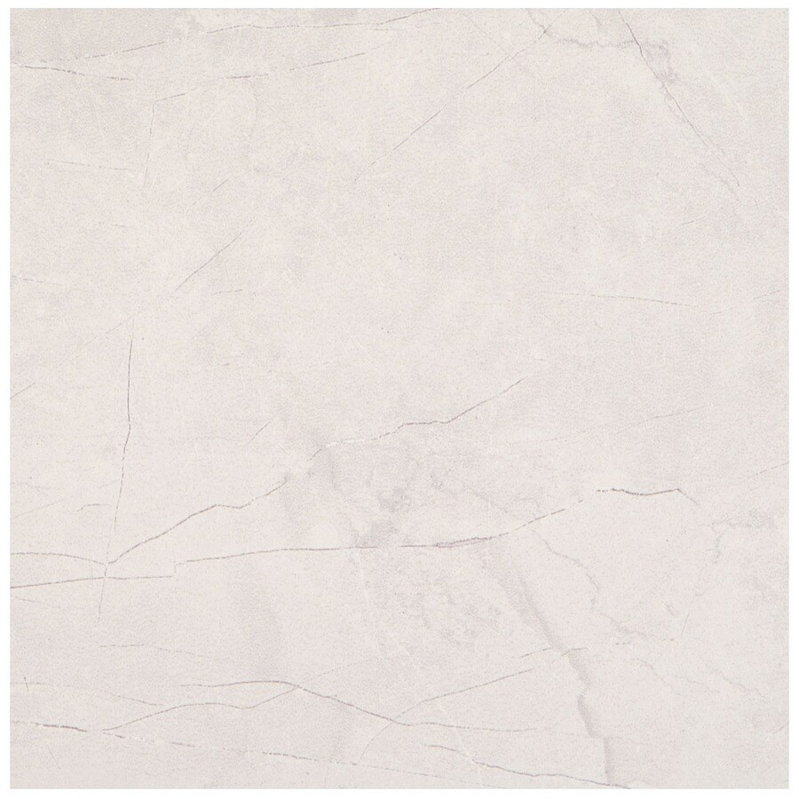 American Olean Bevalo 15-Pack Dove Porcelain Floor and Wall Tile (Common: 12-in x 12-in; Actual: 11.81-in x 11.81-in)