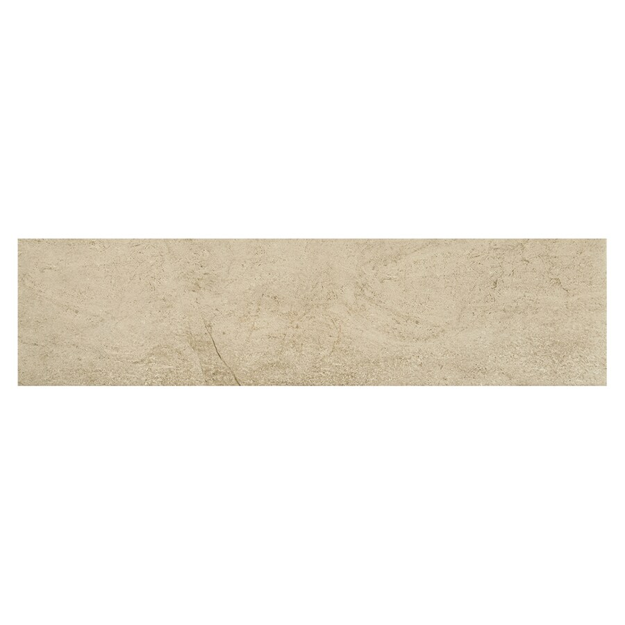 American Olean Fairmont Beach Wood Look Porcelain Floor and Wall Tile (Common: 6-in x 24-in; Actual: 6.1-in x 23.81-in)