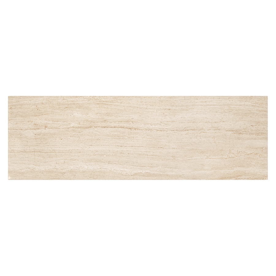 American Olean Alexandria Place Harmony Wood Look Ceramic Wall Tile (Common: 4-in x 16-in; Actual: 16-in x 4-in)