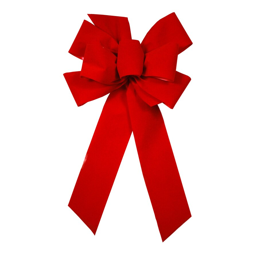 Holiday Living 8-in Traditional Decorative Bow