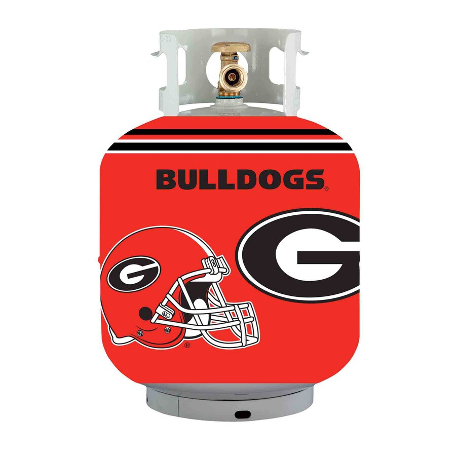 Bottle Skinz 16-in H x 34-in dia Red Polyester Georgia Bulldogs Propane Tank Cover