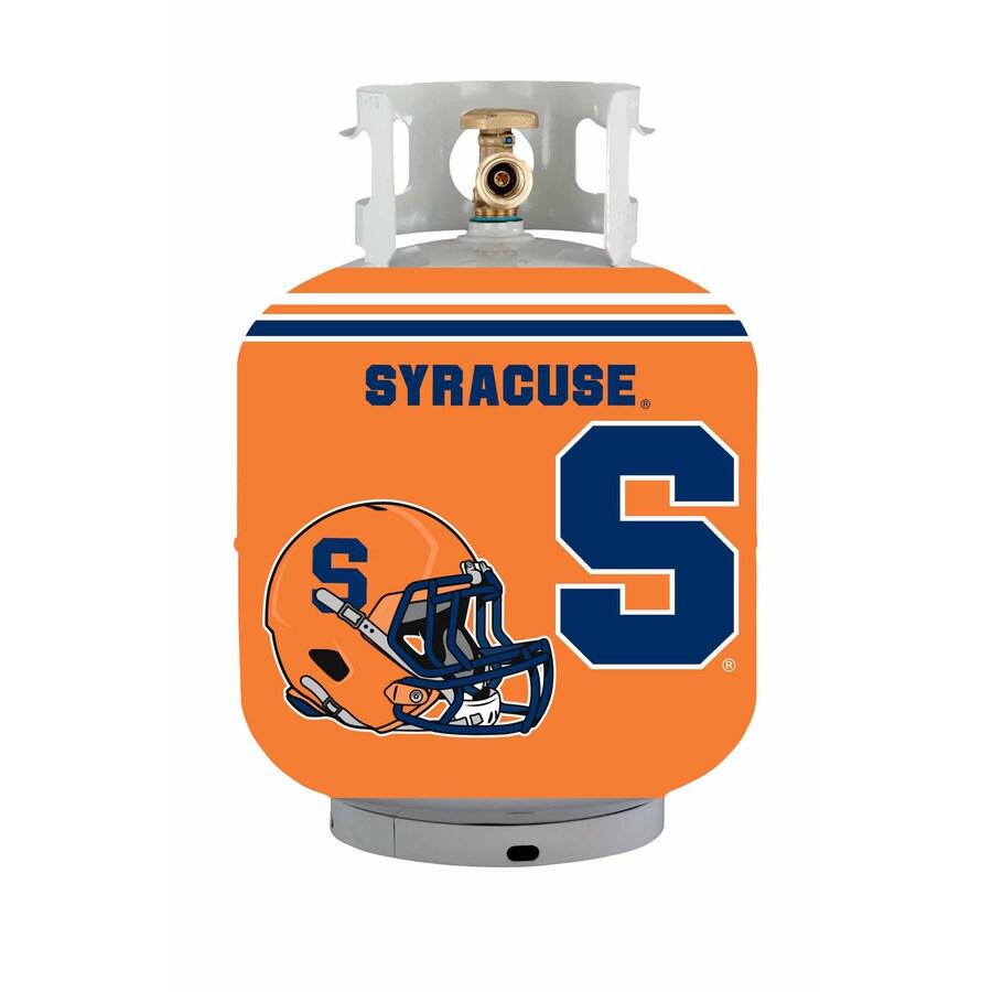 Bottle Skinz 16-in H x 34-in dia Orange Polyester Syracuse Orange Propane Tank Cover