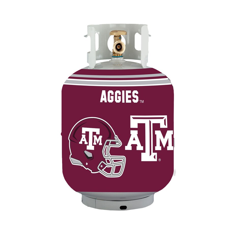 Bottle Skinz 16-in H x 34-in dia Red Polyester Texas A&M Aggies Propane Tank Cover