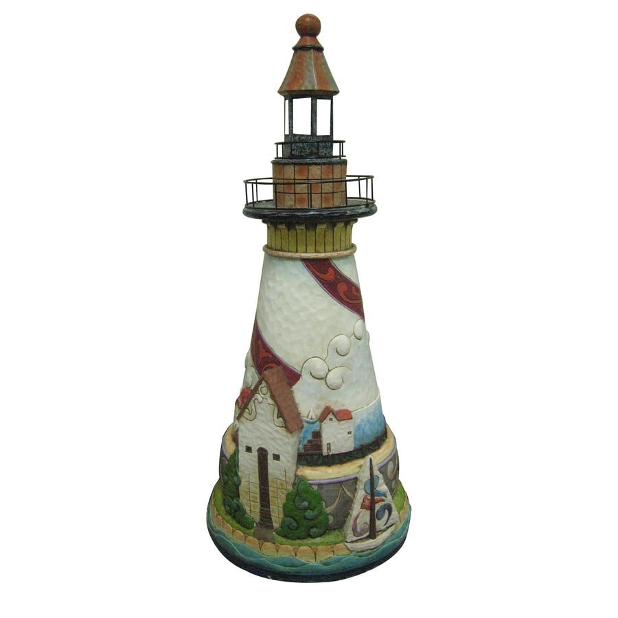 Jim Shore 34.5-in H Lighthouse Garden Statue