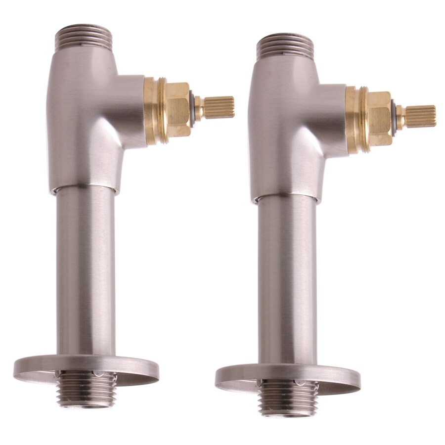 Giagni Straight Stops for Deck mount faucet Supplies Less Handles