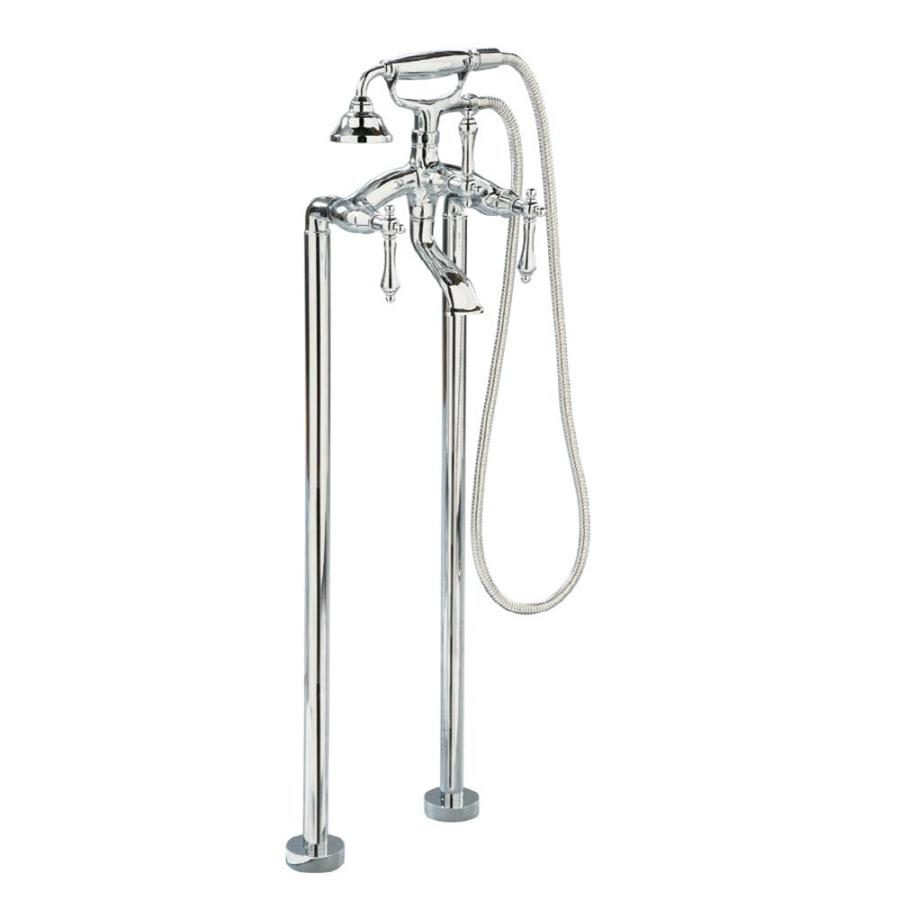 Giagni Traditional Polished Chrome 2-Handle Bathtub and Shower Faucet with Handheld Showerhead