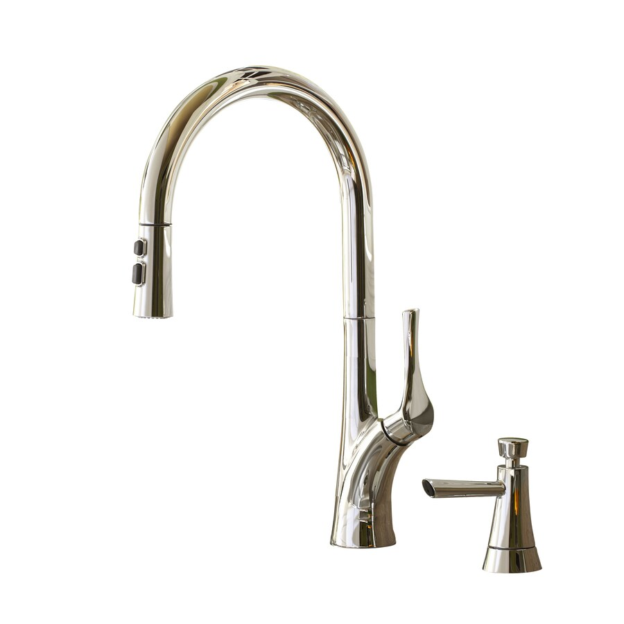 Giagni Caterina Polished Chrome 1-Handle Pull-Down Kitchen Faucet