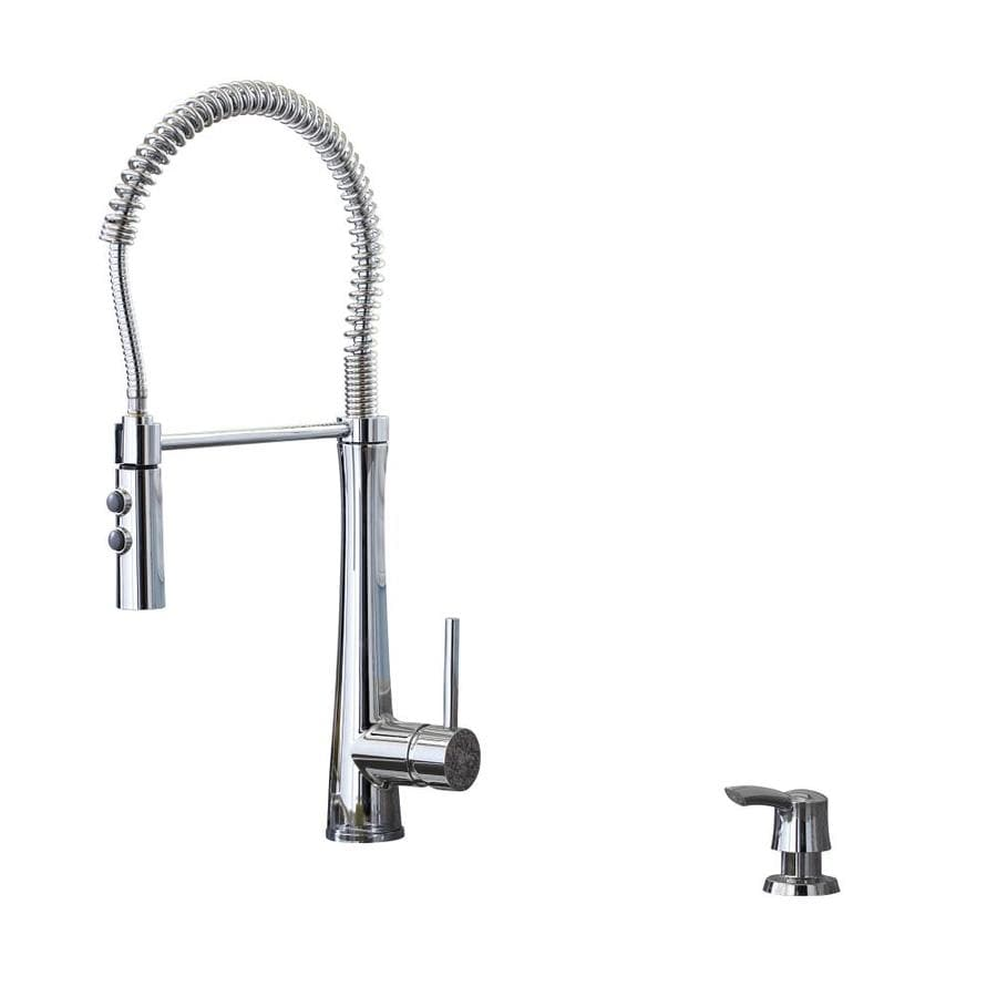 Giagni Fresco Polished Chrome 1-Handle Pull-Down Kitchen Faucet