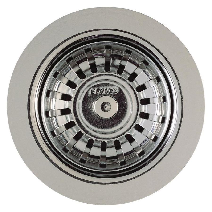Shop BLANCO 3.5-in Stainless Steel Kitchen Sink Strainer Basket at ...