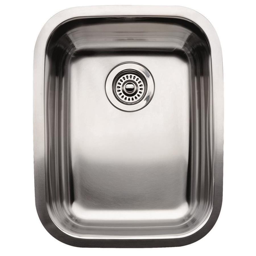 Shop Blanco Supreme Stainless Steel Undermount Residential