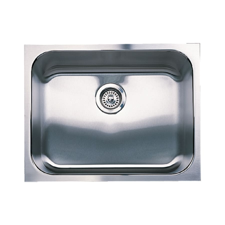 BLANCO Spex 18-in x 23-in Stainless Steel Single-Basin Undermount Residential Kitchen Sink