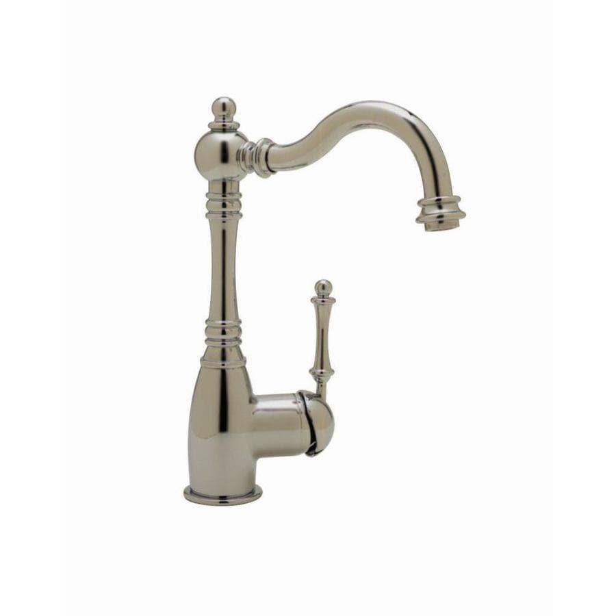 BLANCO Grace Satin Nickel 1-Handle Bar and Prep Faucet