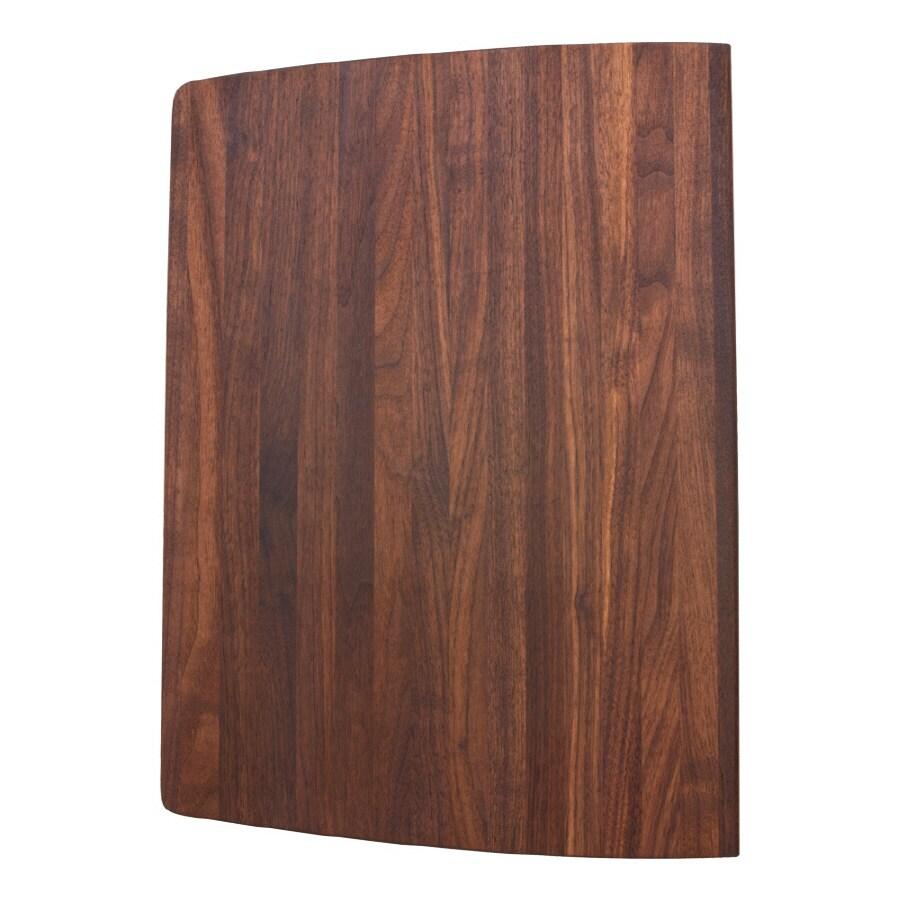 BLANCO 8-1/8-in L x 12-1/2-in W Wood Cutting Board
