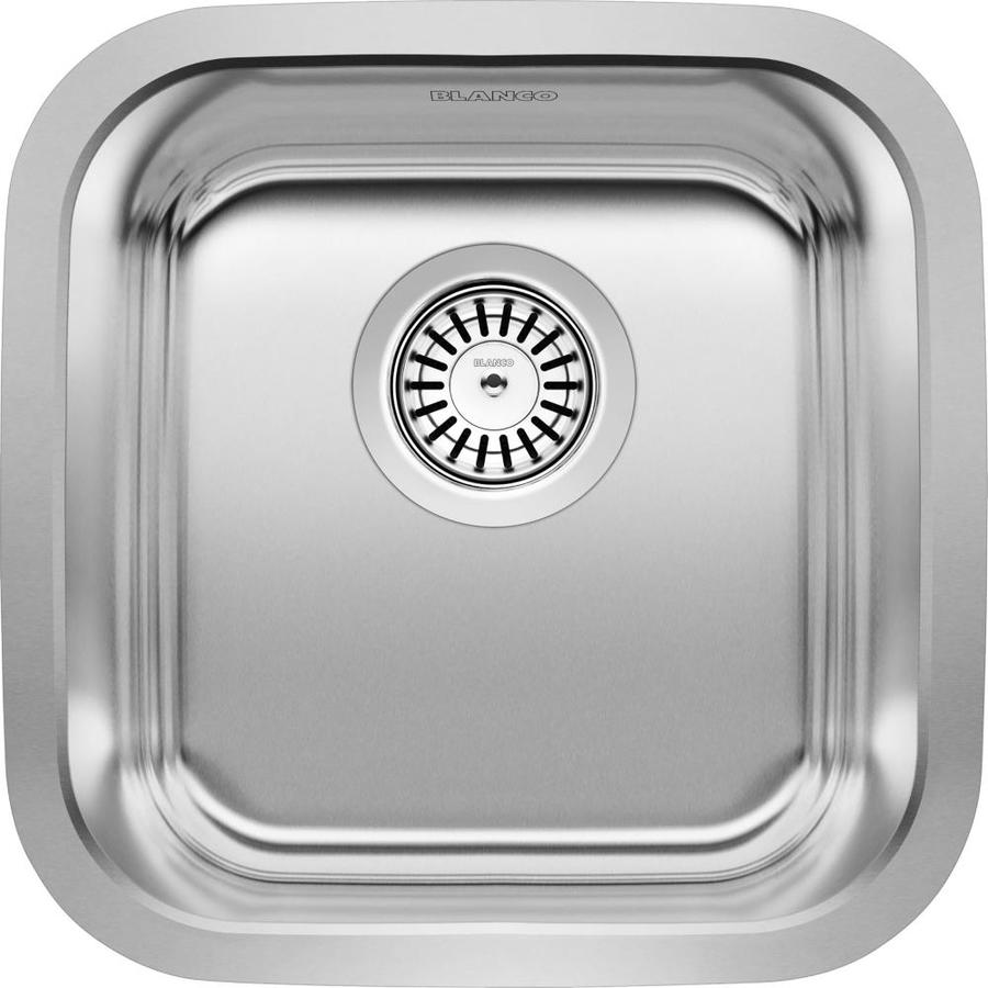 ... Stellar Stainless Steel Single-Basin Undermount Residential Bar Sink