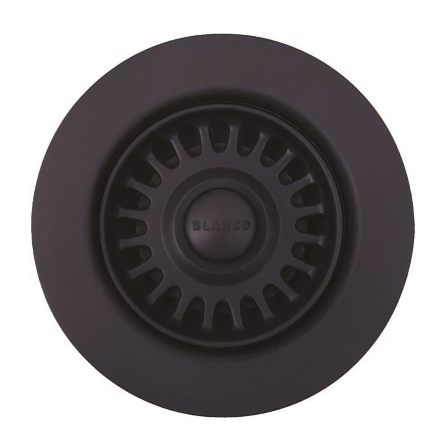 BLANCO 4.5-in Anthracite Plastic Fixed Post Kitchen Sink Strainer