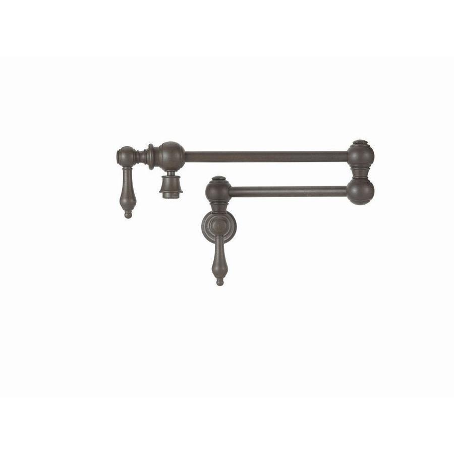 BLANCO Grace Cafe Brown 2-Handle Pot Filler Wall Mount Kitchen Faucet