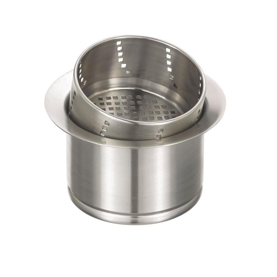 BLANCO 4.5-in Stainless Steel Material Adjustable Post Kitchen Sink Strainer