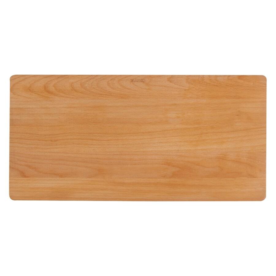 BLANCO 20.87-in L x 10.25-in W Wood Cutting Board
