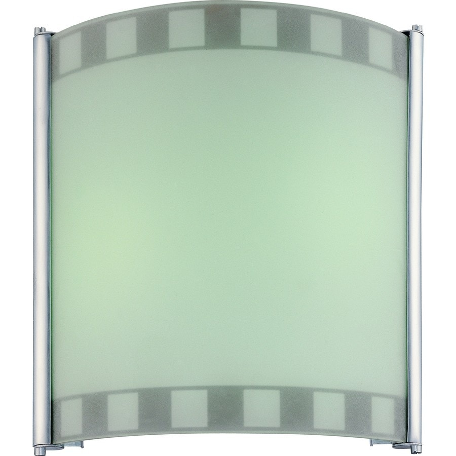 Callis 11-in W 2-Light Silver Grey Directional Hardwired Wall Sconce