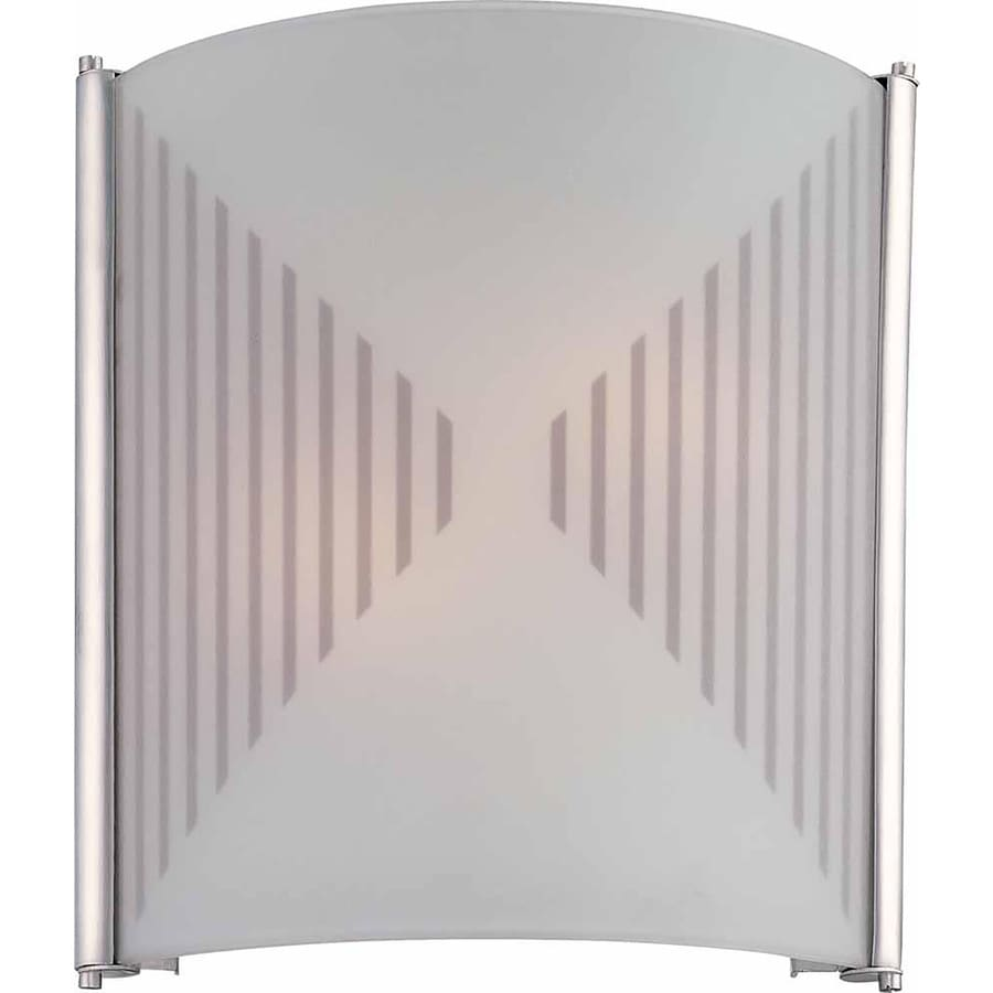 Marburry 11-in W 2-Light Silver Grey Directional Hardwired Wall Sconce