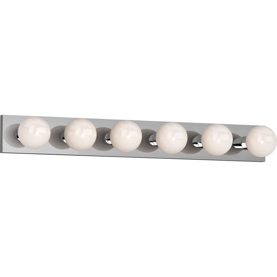 Houma 6-Light Chrome Vanity Light