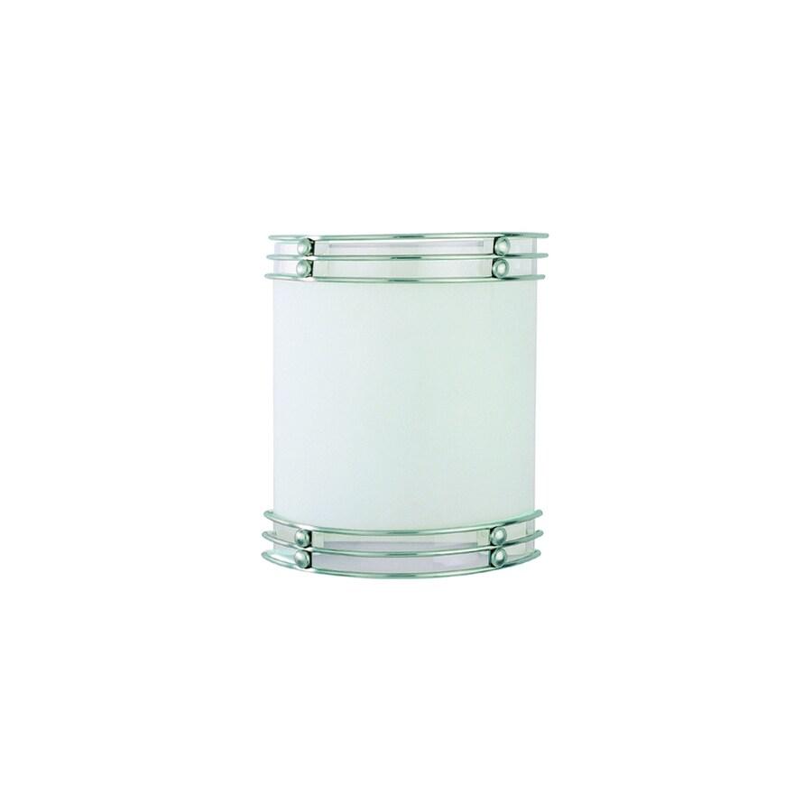 Pekin 10.5-in W 2-Light Brushed Nickel Directional Hardwired Wall Sconce