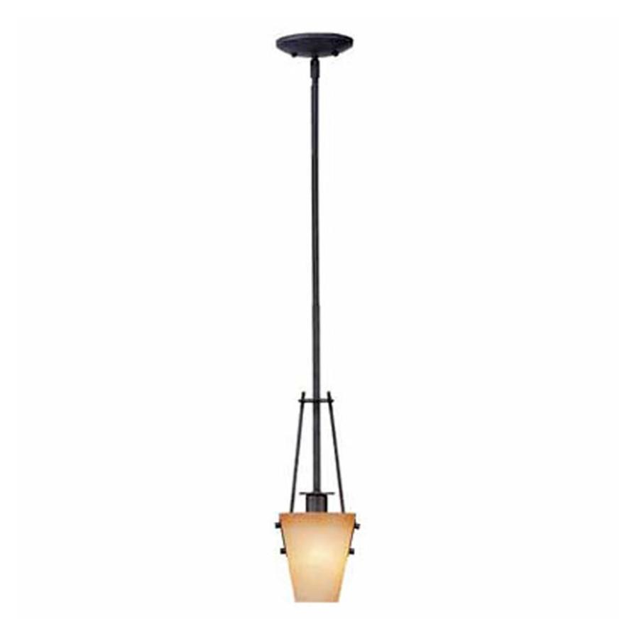 Marianna 5-in Frontier Iron Single N/A Pendant