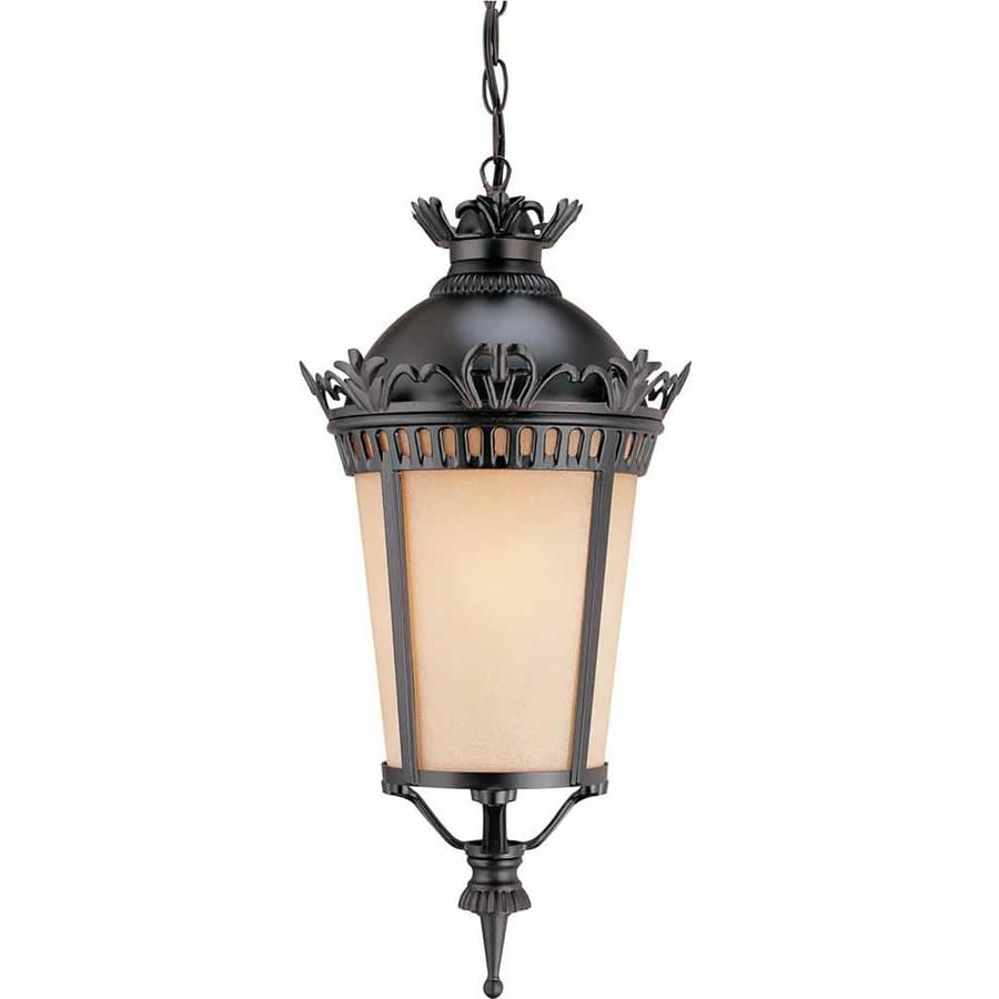 Ashford 20-in Foundry Bronze Outdoor Pendant Light