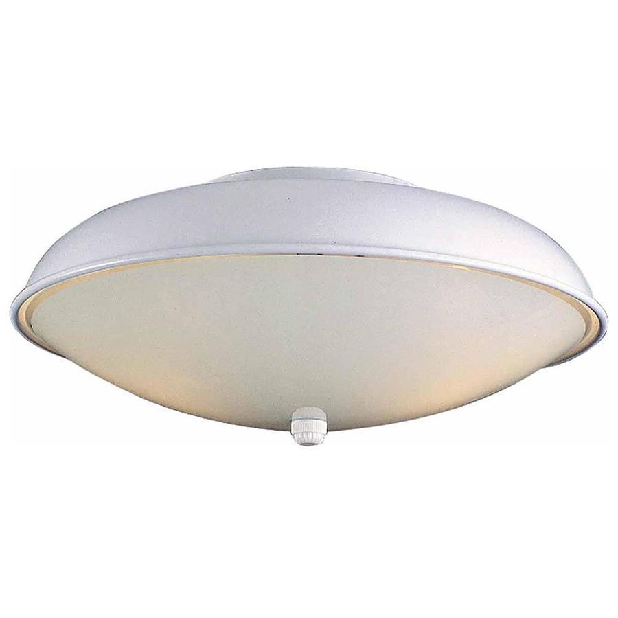Lacona 12.5-in W White Ceiling Flush Mount Light