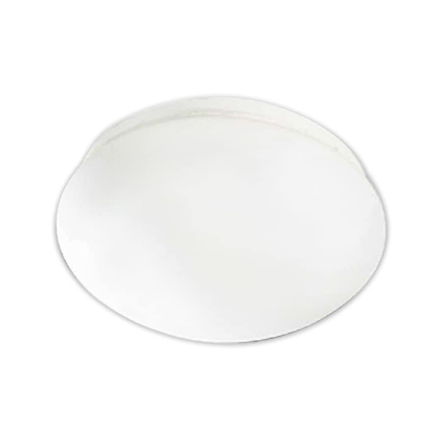 Hebert 12.5-in W White Ceiling Flush Mount Light