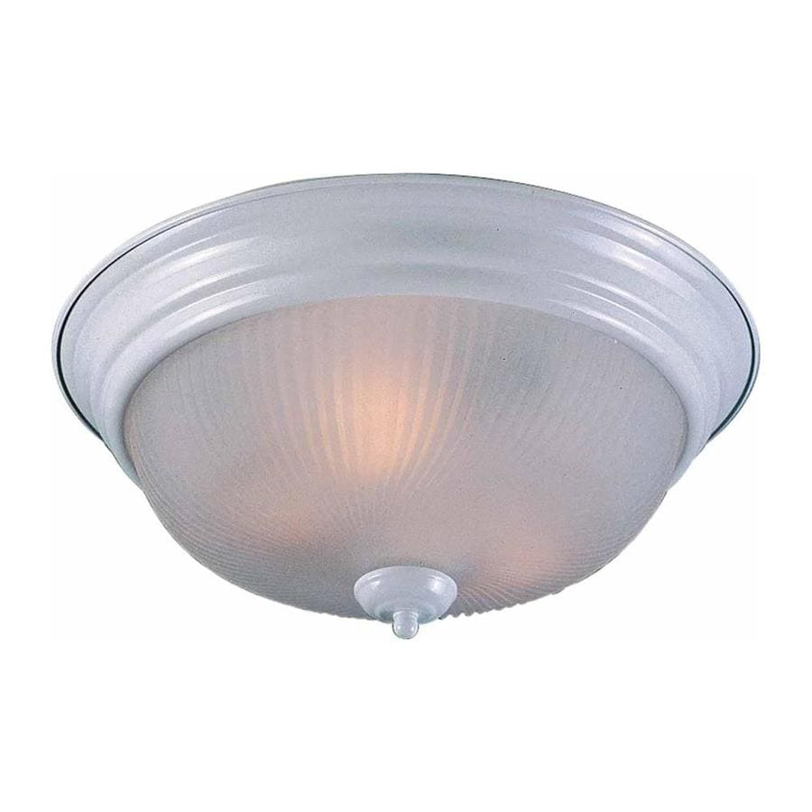 Bowden 15-in W White Ceiling Flush Mount Light