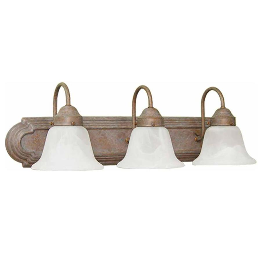 Caballo 3-Light Prairie Rock Vanity Light