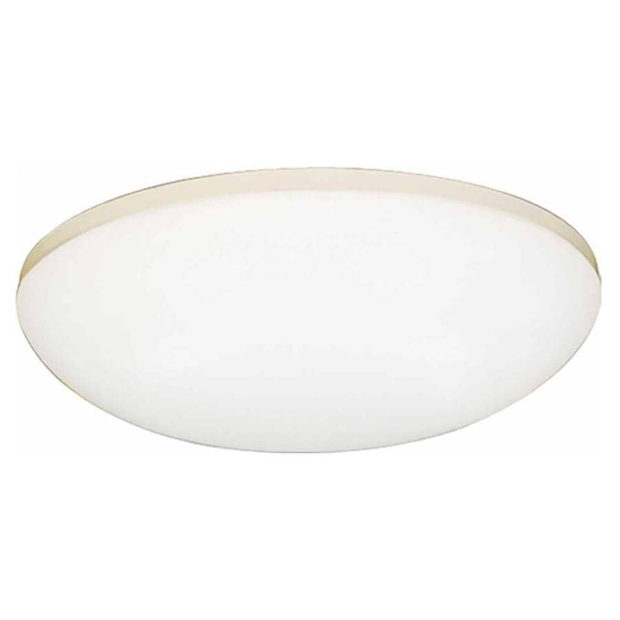 Drayton 11-in W White Ceiling Flush Mount Light