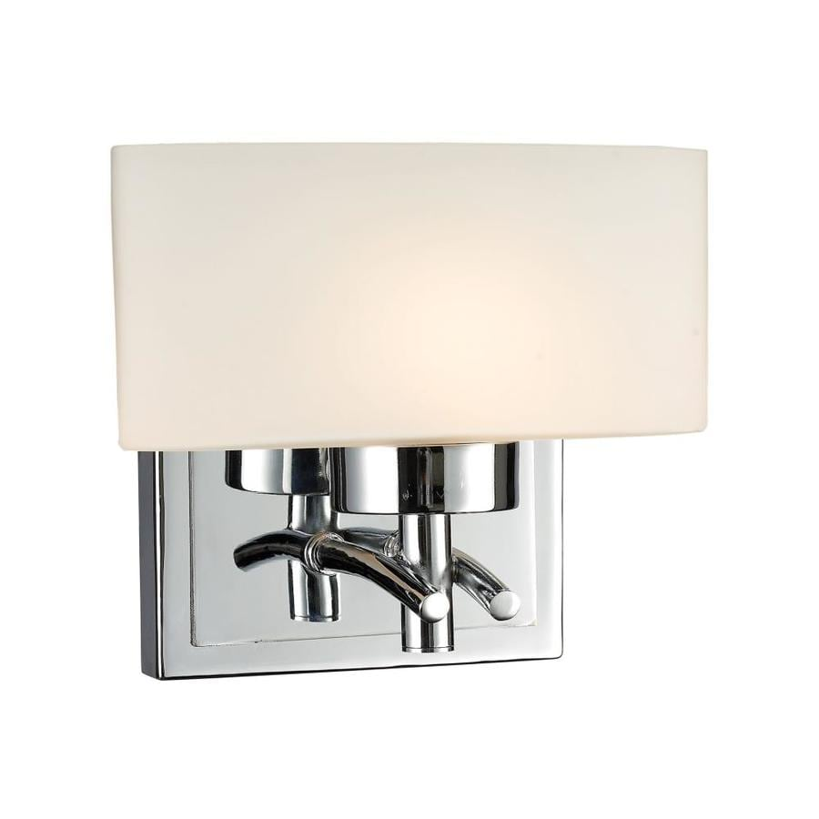 Westmore Lighting Hudson 1-Light Polished Chrome Rectangle Vanity Light