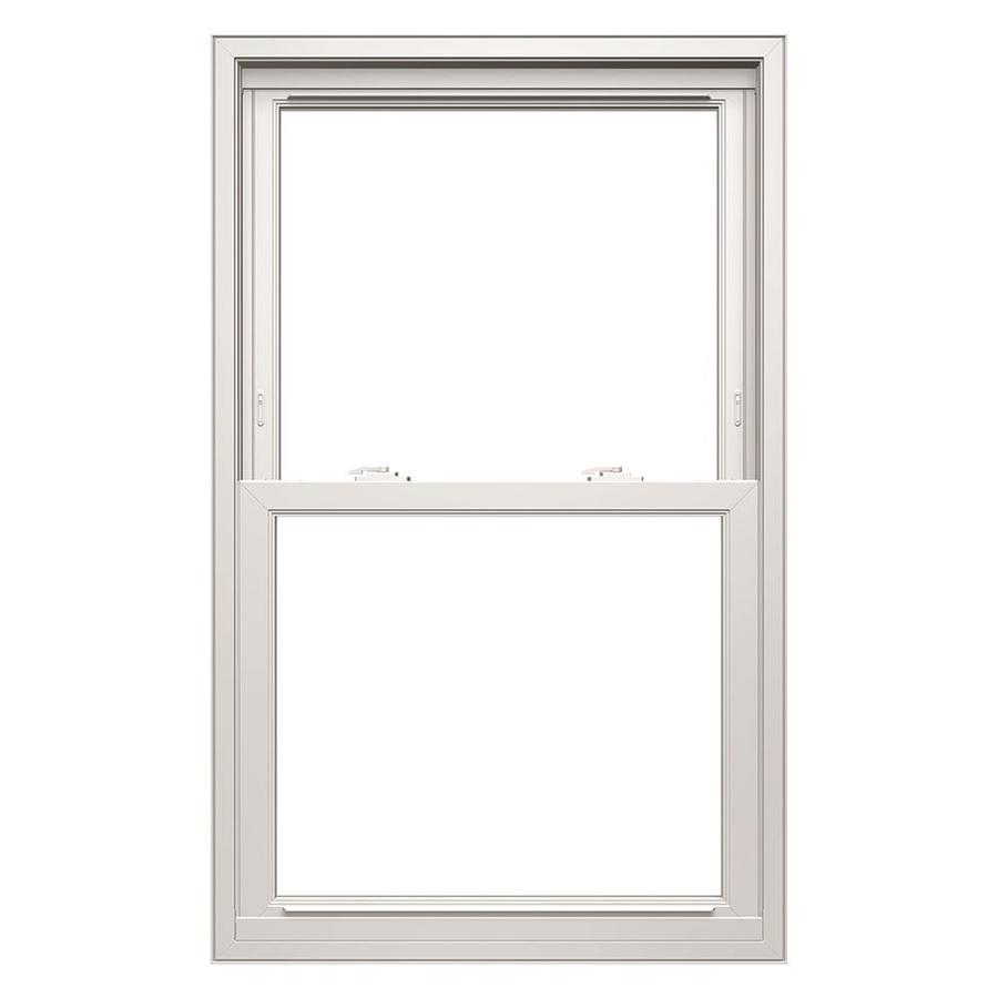 ThermaStar by Pella Vinyl Double Pane Annealed Replacement Egress Double Hung Window (Rough Opening: 35.75-in x 71.75-in; Actual: 35.5-in x 71.5-in)