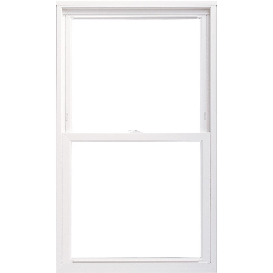 ThermaStar by Pella 20 Series Vinyl Double Pane Annealed Replacement Single Hung Window (Rough Opening: 24-in x 36-in; Actual: 23.5-in x 35.5-in)