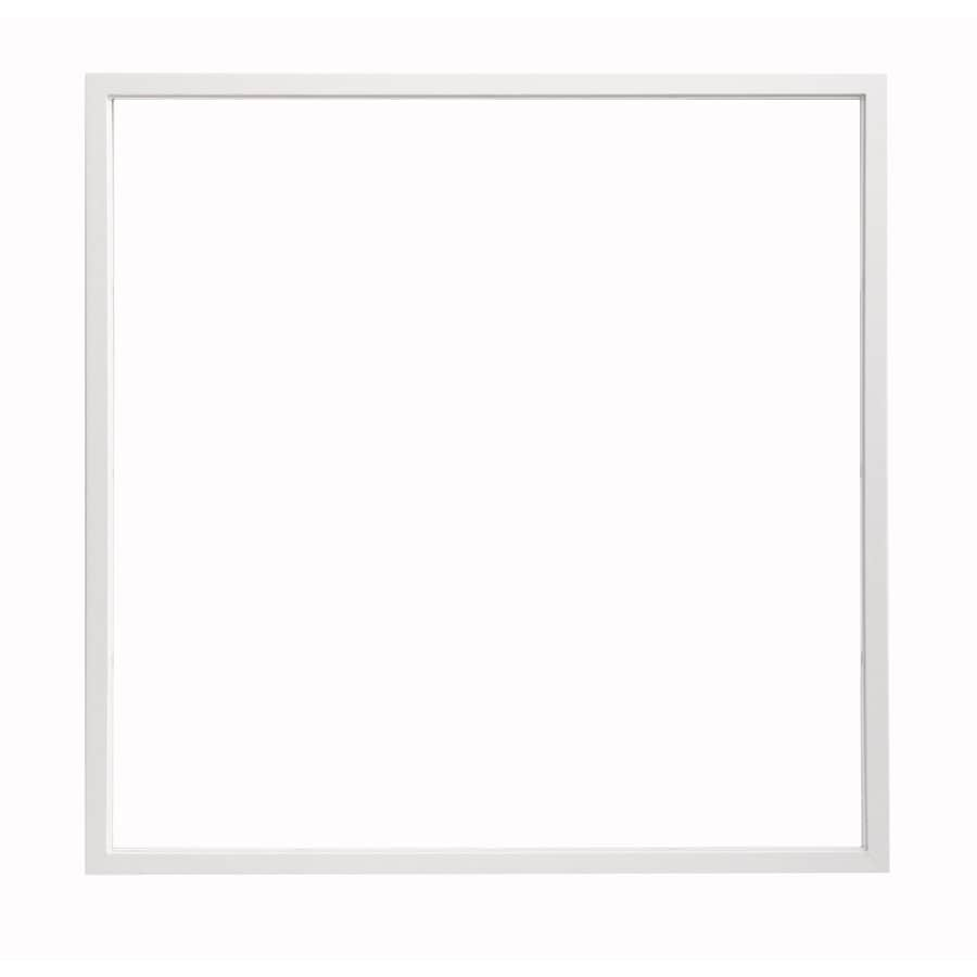ThermaStar by Pella 48-in x 48-in 25 Series Double Pane Annealed Square New Construction Window