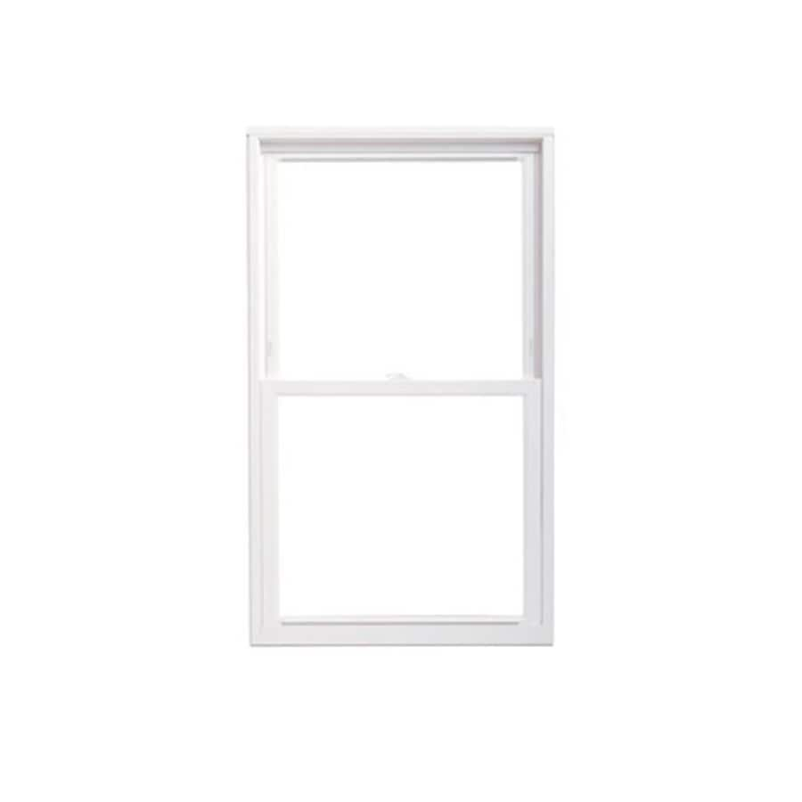 ThermaStar by Pella Vinyl Double Pane Annealed Replacement Double Hung Window (Rough Opening: 27.75-in x 53.75-in; Actual: 27.5-in x 53.5-in)