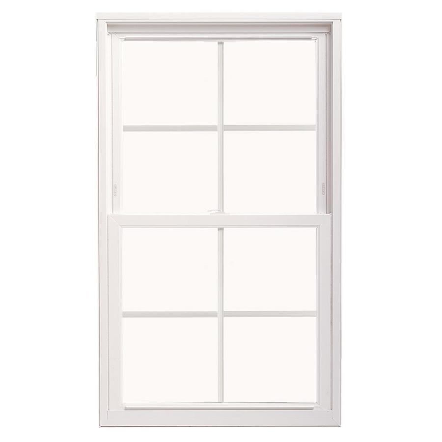 ThermaStar by Pella Vinyl Double Pane Annealed Replacement Double Hung Window (Rough Opening: 27.75-in x 37.75-in; Actual: 27.5-in x 37.5-in)