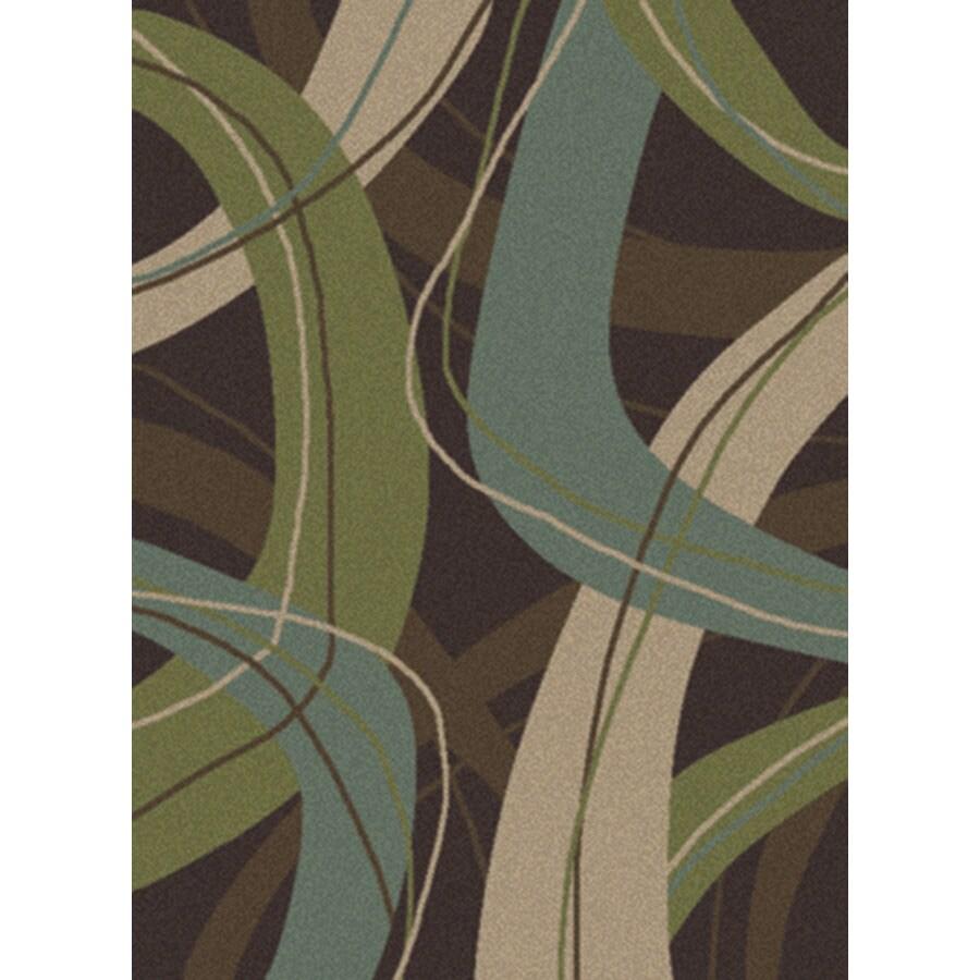 Oriental Weavers of America Rectangular Area Rug (Common: 5 x 8; Actual: 63-in W x 90-in L)