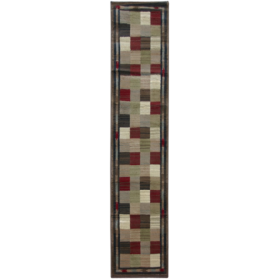 Oriental Weavers of America Sonoma Cream Woven Runner (Common: 2-ft x 8-ft; Actual: 1-ft 10-in x 7-ft 6-in)