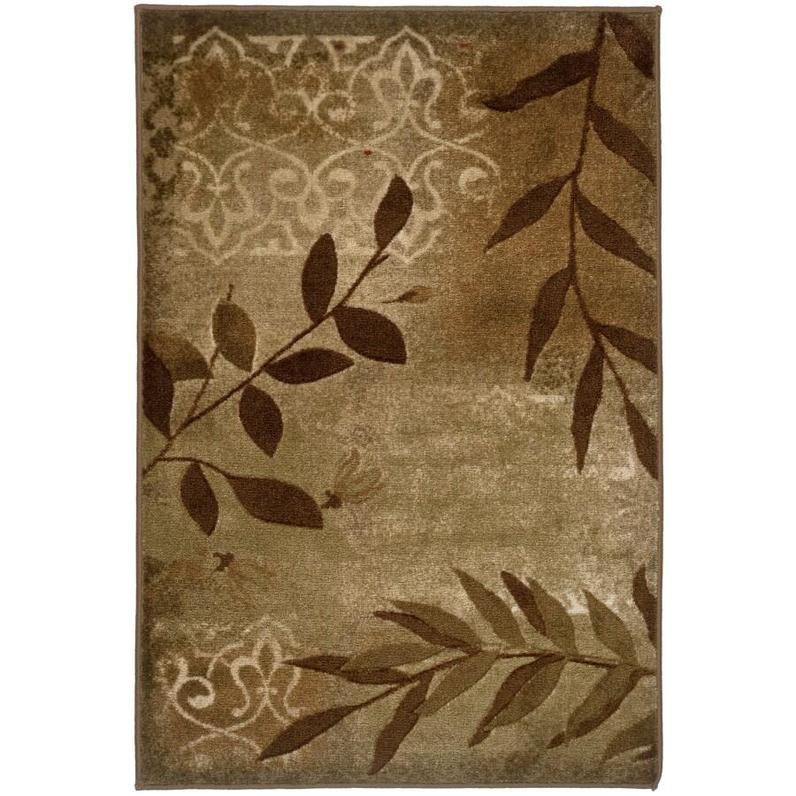 Oriental Weavers of America Aurora Rectangular Woven Kids Throw Rug (Common: 2 x 3; Actual: 22-in W x 40-in L)