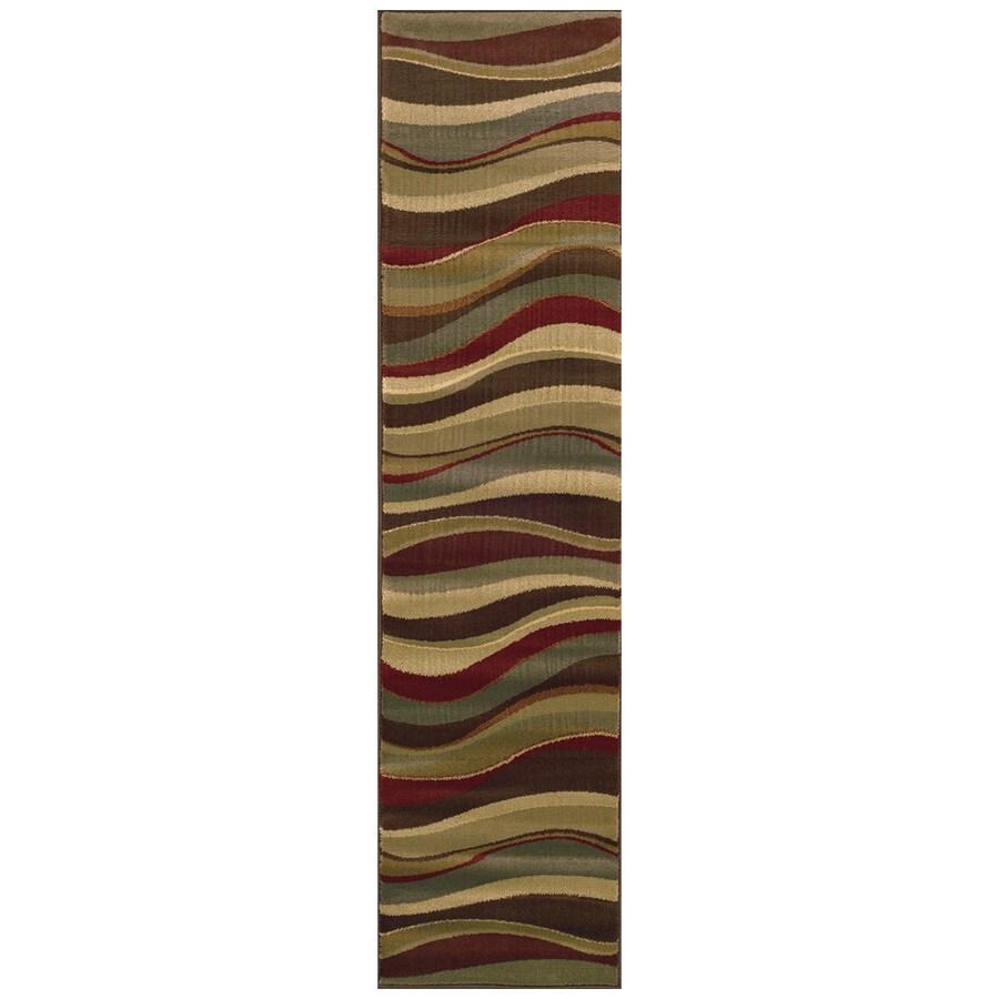Sedia Home Parkway Multicolor Rectangular Indoor Woven Runner (Common: 2 x 8; Actual: 22-in W x 90-in L)