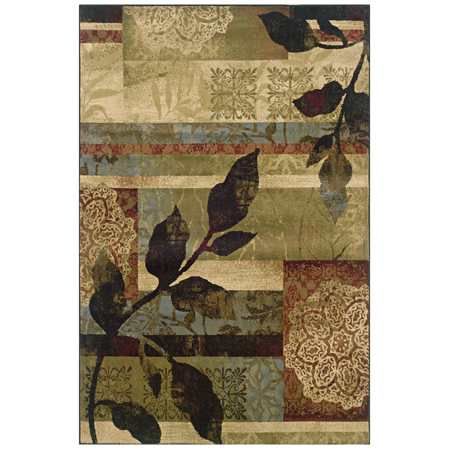 Sedia Home Makayla Multicolor Rectangular Indoor Woven Nature Area Rug (Common: 8 x 10; Actual: 94-in W x 120-in L)